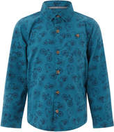 Monsoon Bennie Bike Print Long Sleeve Shirt
