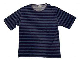 Acne Studios Blue Cotton T-shirts