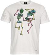 Paul Smith Skeleton T-Shirt PTPD-011R-10880-01 White