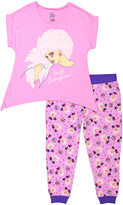 Briefly Stated Pink Jem & the Holograms Pajama Set - Juniors