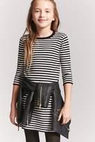 Forever 21 Girls Stripe Dress (Kids)