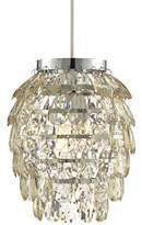 Lighting Collection 700030 60 Watt Non-Electrified Pineapple Pendant, Champagne
