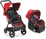 I'coo Acrobat/iGuard 35 Travel System in Fishbone Red