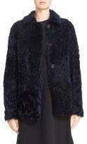 Sofie D'hoore Women's 'Cortes' Reversible Genuine Shearling Jacket