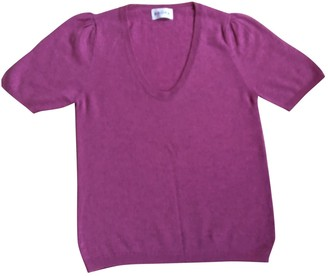 Brora Pink Cashmere Top for Women