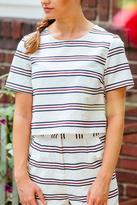 Honey Punch Stripe Crop Top