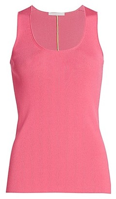 Helmut Lang Neon Link Ribbed Shell