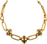 One Kings Lane Vintage 1930s Deco Heavy Link Necklace