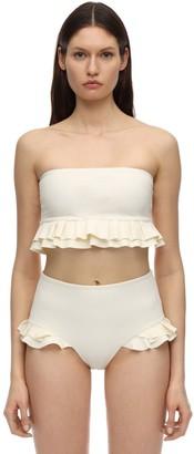 Izzie Ruffled Bikini Top