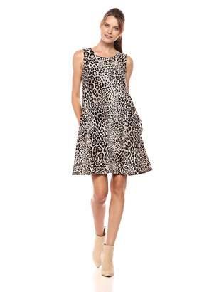 Karen Kane Women's Leopard Print Chloe Dress Small