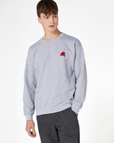 Topman Rose Embroidered Sweatshirt