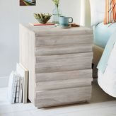 west elm Stria Nightstand - Cerused White