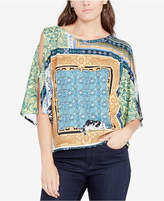 Rachel Roy Cold-Shoulder Top, Created for Macy's