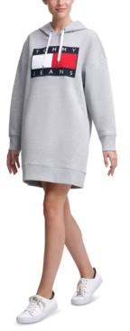 Tommy Jeans Logo Hoodie Dress