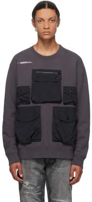 Neighborhood Grey Heavys Crewneck Sweatshirt