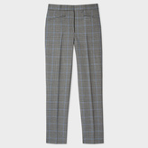 Paul Smith Women's Slim-Fit Puppytooth-Check Wool Trousers