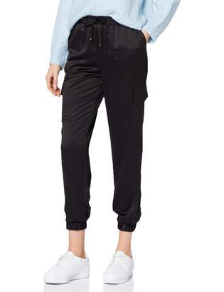 New Look Women's Satin Utility Jogger Trousers