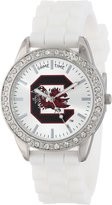 Game Time Women's COL-FRO-SCA Frost College Series Collegiate 3-Hand Analog Watch