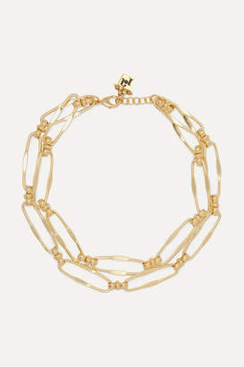 Rosantica Isola Layered Gold-tone Necklace