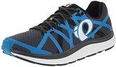 Pearl Izumi Men's EM Road H 3 Running Shoe, Black/Dynasty Green, 12 D US