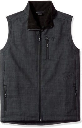 Wrangler Men's Water Repellent Trail Vest-Big and Tall