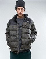 The North Face Nuptse2 Down Jacket In Woodland Print