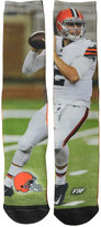 For Bare Feet Johnny Manziel Cleveland Browns Player Mesh Crew Socks