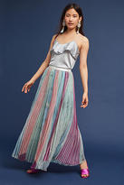 Anthropologie Lily Pleated Skirt