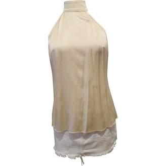 LPA Beige Silk Tops