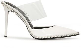 Alexander Wang Rina studded pointed mules