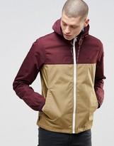 Element Alder Jacket With Hood In Colour Block