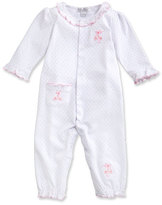 Kissy Kissy Baby Ballet Slippers Coverall, Pink, Size 3-18 Months