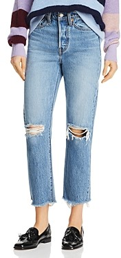 Levi's Wedgie Straight Jeans in Uncovered Truth