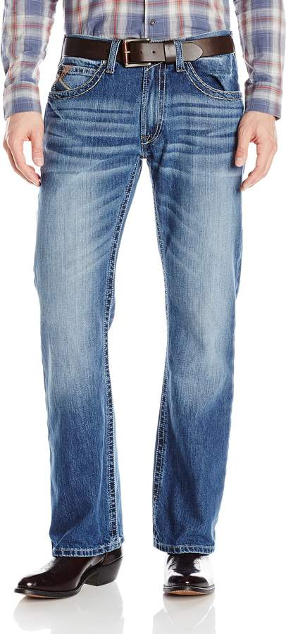 Ariat Men's M6 Slim Fit Boot Cut Jean