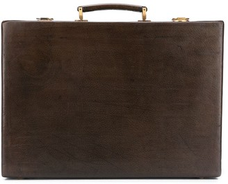 A.N.G.E.L.O. Vintage Cult 1970s Compartmentalised Briefcase