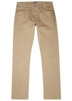 Citizens Of Humanity Citizens Of Humanity Core Sand Slim-leg Chinos