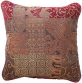 Croscill Classics Catalina Red Square Decorative Pillow