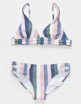 Thumbnail for your product : Raisins Malibu Stripe Girls Tringle Bikini Set