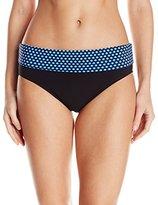 Christina Women's Ocean Pearl Semi-High Waist Bikini Bottom