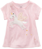 First Impressions Unicorn-Print T-Shirt, Baby Girls (0-24 months), Created for Macy's