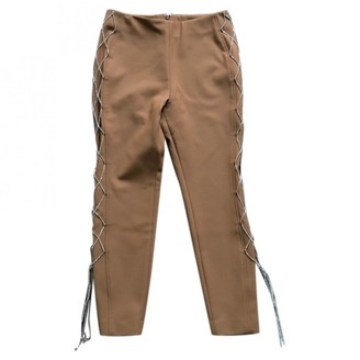 Area Camel Wool Trousers