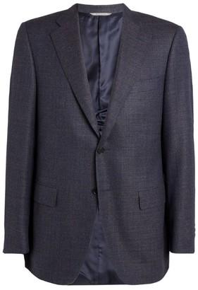 Canali Textured Wool Blazer