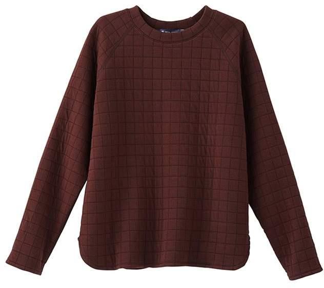 Petit Bateau Womens padded tube knit sweatshirt