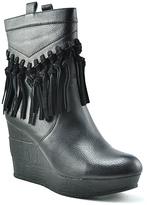 Sbicca Black Rhonnie Wedge Boot