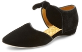 F-Troupe Textured Pointed-Toe Flat