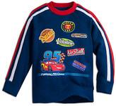 Disney Lightning McQueen Raglan Sleeve Sweatshirt for Kids