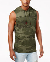 American Rag Men's Camouflage-Print Hooded Tank, Only at Macy's