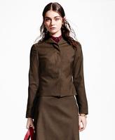Brooks Brothers Pick-Stitched Wool-Blend Jacket