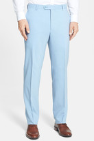 Santorelli Flat Front Travel Trousers