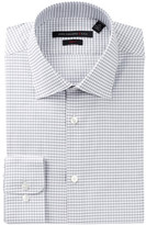 John Varvatos Graph Check Slim Fit Dress Shirt
